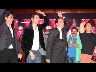 Shah Rukh, Aamir, Hrithik Dance With Dharmendra !