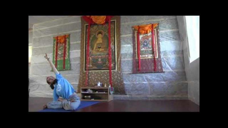 Практика Хатха йоги. Раскрытие тазобедренных суставов.