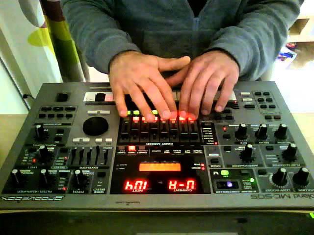 Roland Groovebox MC 505 Live -Jam Fascinating Afterlife