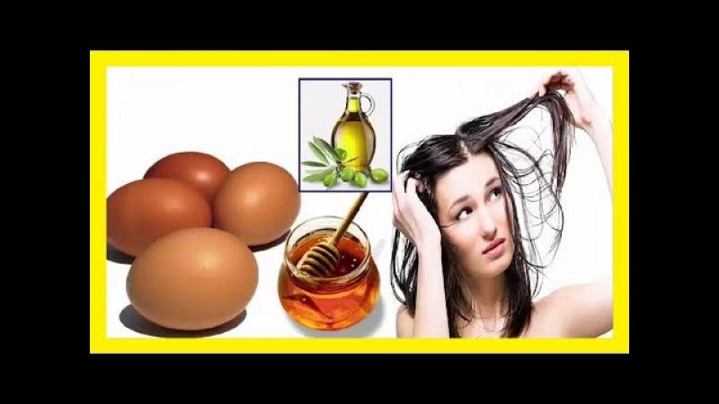 Despídete de las puntas abiertas con esta mascarilla de huevo y aceite de oliva