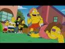Homer e Bart sfida broccoli Simpson ITA HD Stagione 26 Episodio 2