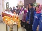 Освящен новый храм в честь Святой Троицы в деревне Хвалово Ленинградской области