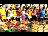 100 Whole Chicken Roast Cooking By Women Serve To 300+ Kids &amp Villagers To Celebrate New Year
