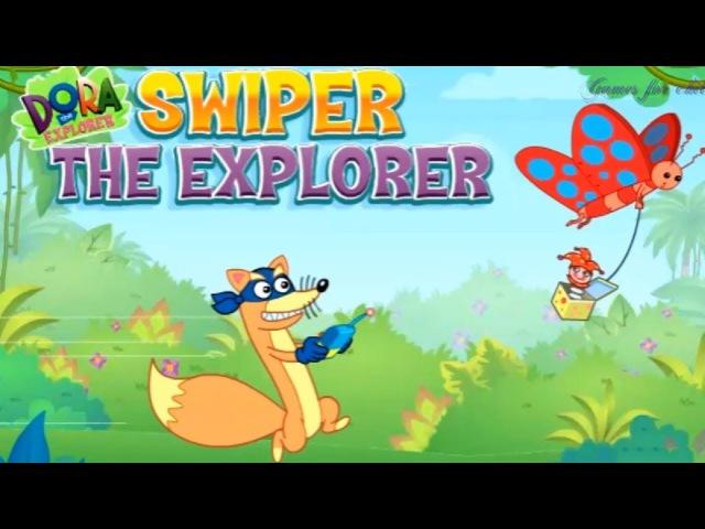 Games for kids Dora the Explorer Swiper the Explorer Games for children