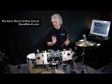 Dave Weckl Online School Ergonomic Setup