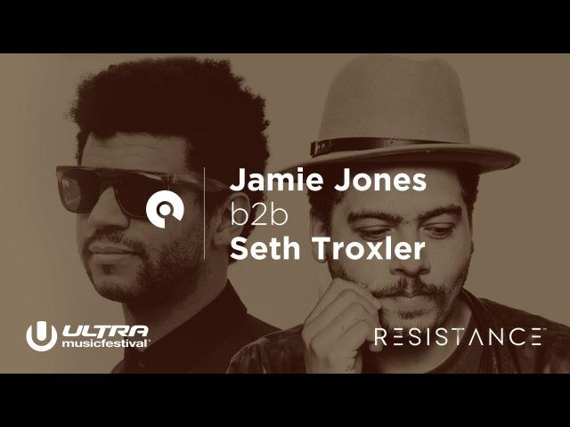Jamie Jones b2b Seth Troxler Ultra Miami 2017 Resistance powered by Arcadia Day 3 BE