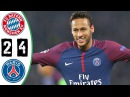 Bayern Munich vs PSG 2-4 All Goals & Highlights Resumen y Goles 2017