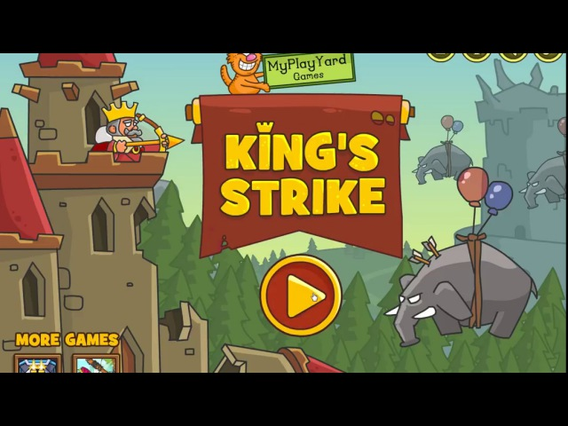 King's Strike ► КОРОЛЬ ЗАЩИЩАЕТ ЗАМОК ► ФЛЭШ ИГРЫ