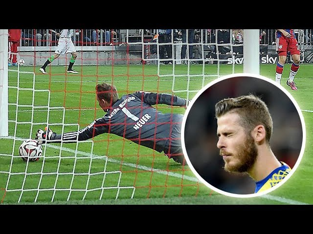 Mistakes by Famous Goalkeepers ● Neuer, Buffon, De Gea, Courtois