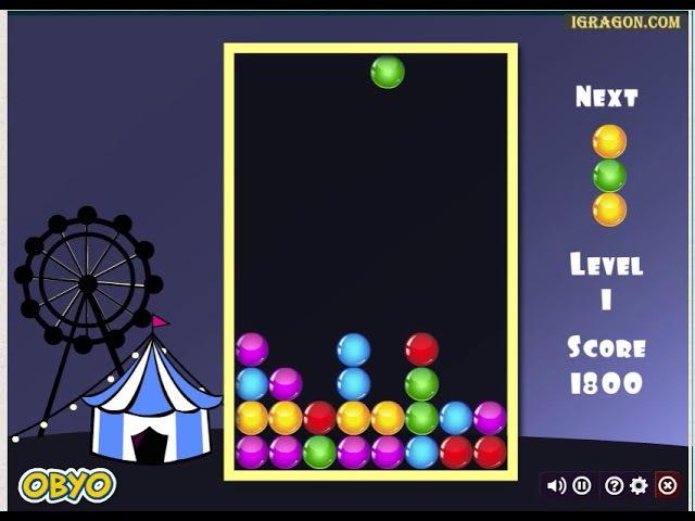 Тетрис шарики