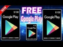 How to get free google play gift card codes or free google play redeem codes2018 Method - YouTube