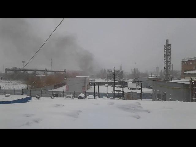 Пожар на Криогене (11.01.2018)