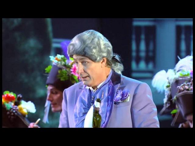 Vladimir Kudashev La Cenerentola 1 atto Don Magnifico Intendente,Direttor...Noi don Magnifico