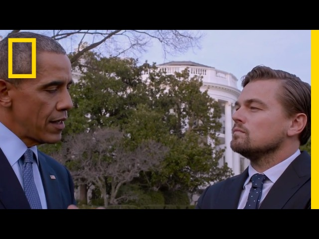 Titanic Video LeonardoDiCaprio President Obama and Climate Change | Before the Flood