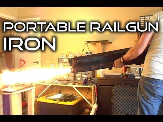 SEMI-AUTOMATIC RAILGUN: SR-1 Iron Armatures