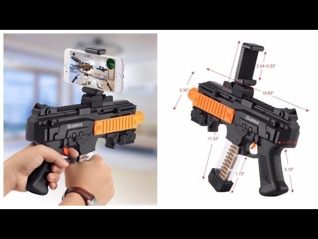 AR Game Gun автомат дополненной реальности обзор