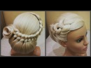Прически.Быстрая прическа.легкое плетение волос.Bridal Long Hair Tutorial Step By Step