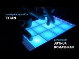 Dubstep Drum Pad Machine Matta - Titan (Live Beat Making)
