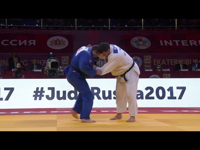 GS Ekaterinburg 2017, 100 kg, fight for the bronze, Uladislau Tsiarpitski(BLR)-Andrey Volkov(RUS) vk.com/dzigoro_kano