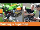 How to build a racing Kawasaki ZX-10R Superbike for mce BSB with Gearlink Kawasaki