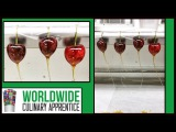How to Make Candied Cherry-Sugar Garnish-Caramel Garnish-Pastry School