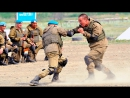 Fight: Russian paratrooper against the American Marines
