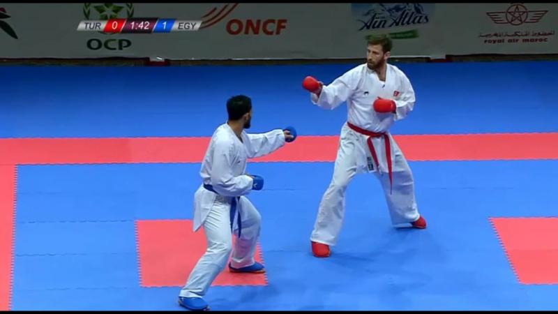 Энес Эркан (Турция) vs Ахмед Эласфар (Египет)