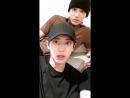 171030 Chanyeol instagram live with Kai  Sehun (full) 박찬열 - 인스타그램 라이브