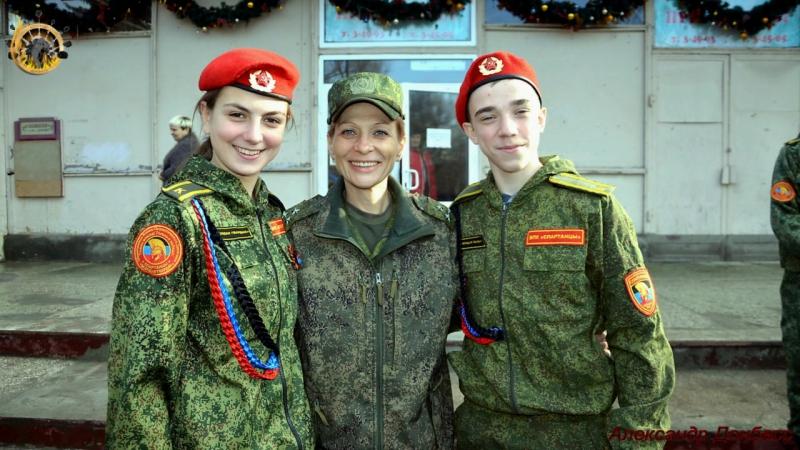 Встреча курсантов ОВПД Молодая Гвардия с Ольгой Сергеевной Качура, Позывной Корса, командир реактивно-артиллерийского дивизи