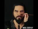 Kahl Drogo cosplay transformation