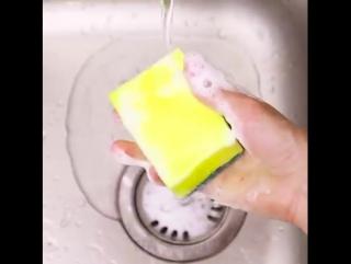 5 умных способов, как использовать кухонную губку ~Умная мама~