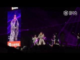 171223 Kris Wu-Deserve @ The Rap Of China Concert