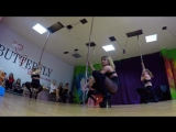 Pole dance exotic Butterfly studio