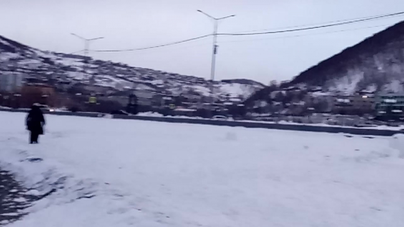 Камчатка, Ачинская бухта.
