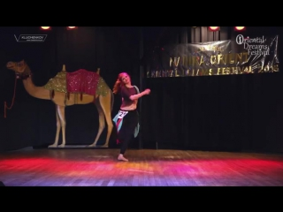 ANISA Dance - 2nd place on ORIENTAL DREAMS FESTIVAL in Cracow, Polnad (fusion & 6660