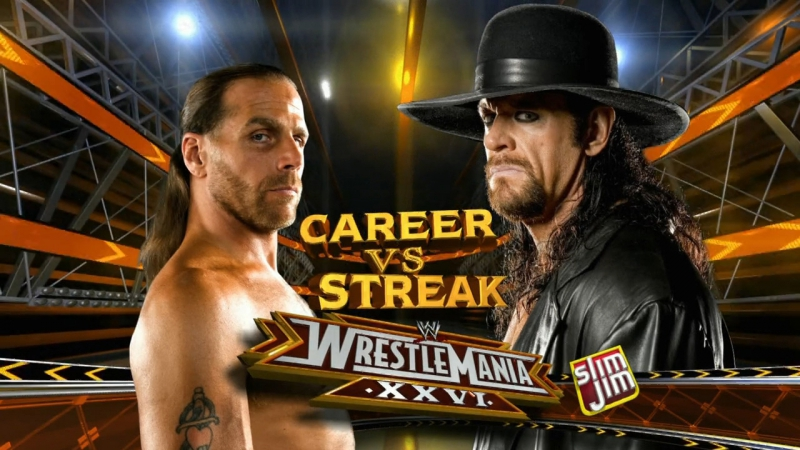 Undertaker vs Shawn Michaels - WrestleMania 26, 2010