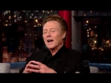 Christopher Walken old full interview on David Letterman Late Show