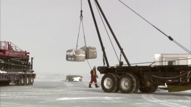 Ледовый путь дальнобойщиков 2 сезон 7 серия из 14 / Ice Road Truckers (2008) HD 720p