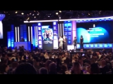 Harry and Matthew give the acceptance speech!