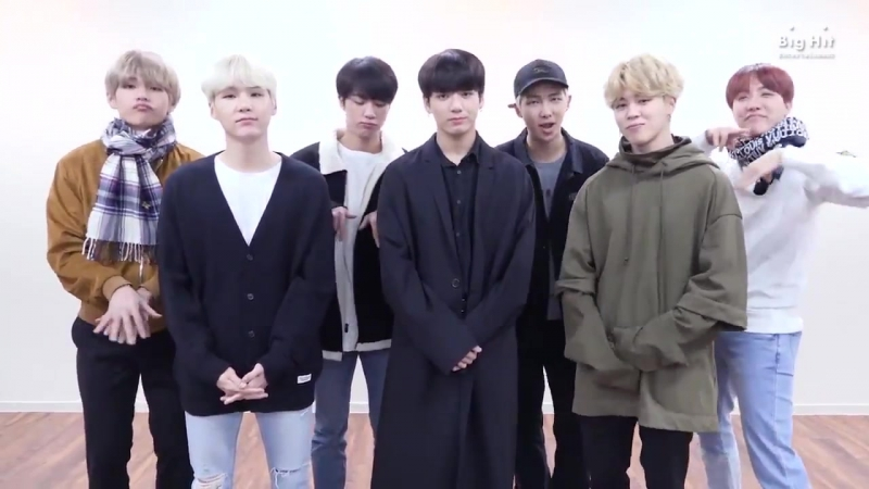 [MASSAGE] 171124 BTS Message for Spotify Japan and Singapore