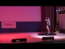 Оля Уделько, pole-dance, показательное выступление. energy-studio