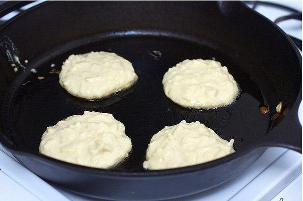 Оладьи без муки на кефире рецепт с фото