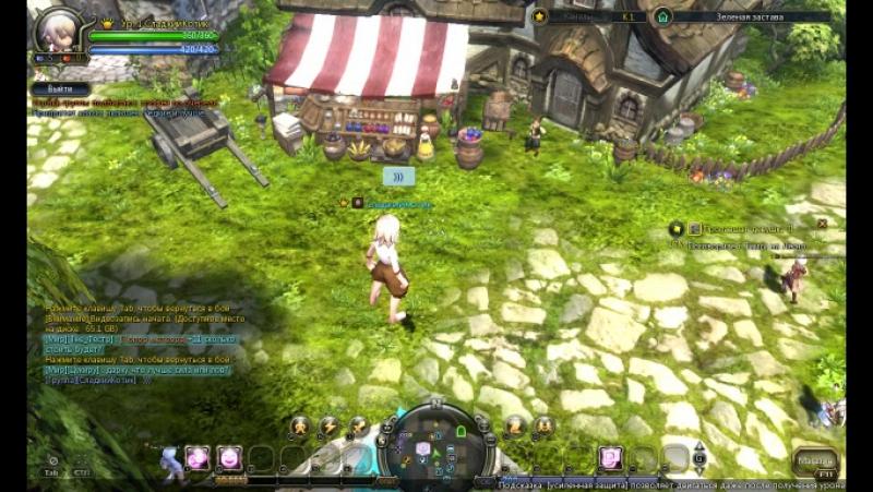 Баг с фонтаном в Зелёной Заставе (Dragon Nest)