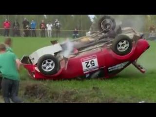 Аварии на раллийных гонках
