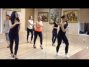 Salsa Ladys style with Kristina Bolbat. Dance Station.