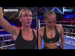 Женский бокс: Микаэла Майер — Нидия Феличиана   MIKAELA MAYER VS NYDIA FELICIANO