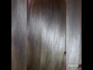ботокс на соженные/осветленные волосы