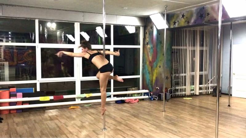 Pole Dance Омск Ангелина Солдатова