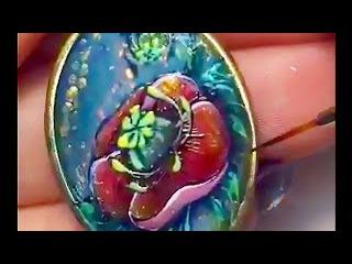 Светлана Азарова - Мак гель лаком / Svetlana Azarova - Poppy gel polish Periscope