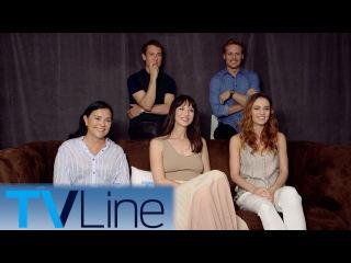 Outlander Cast Interview & Season 3 Preview | Comic-Con 2017 | TVLine